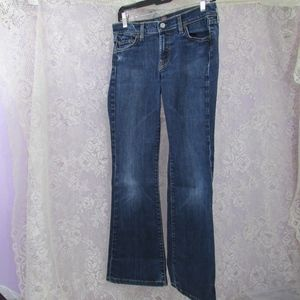 "Seven For All Mankind Flare Jeans 28 1/2"" W 29""L"